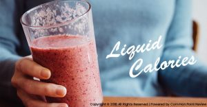 Reduce Consuming Liquid Calories
